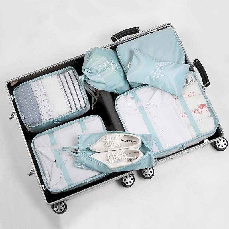 8f884078ed66 Storage Bags luggage organizer travel storage bag suitcase organizer  clothes organizer 7 pieces/ set travel shoe bag travel set-in Storage Bags  from ...