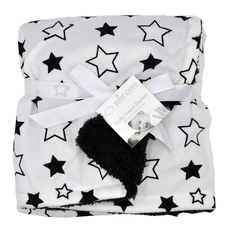 Cute Cartoon Newborn Baby Blanket Coral Fleece Baby Swaddle Super Soft Baby Wrap for Infant Baby Bedding Blanket Size 102cm76cm (20)