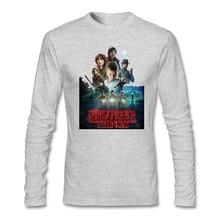 Mens Stranger things band Shirts Montauk Geek Short T-Shirt for men Cotton Tees Screw Neck