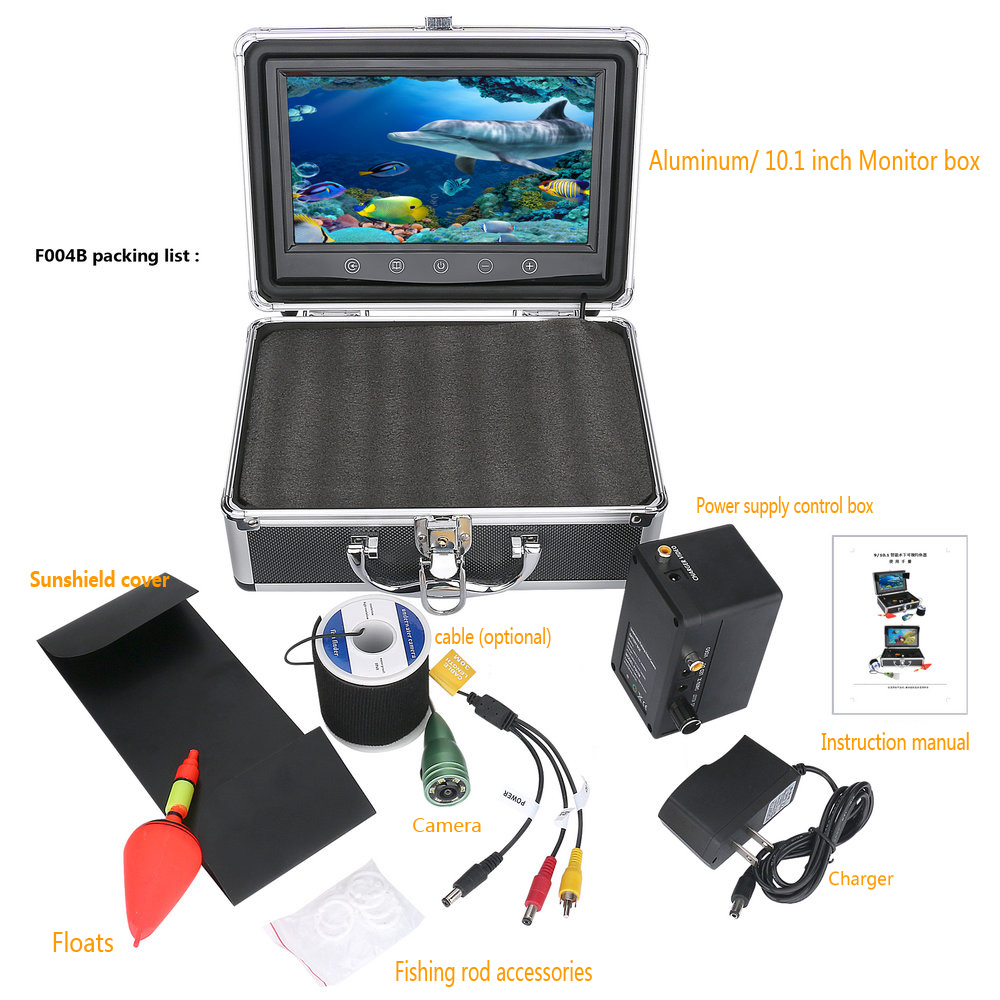 SmartYIBA 10 Inch Color Monitor WIFI Wireless Underwater Camera For Fishing Detector Inspection Camera Kits Ice Sea  FishFinderSmartYIBA 10 Inch Color Monitor WIFI Wireless Underwater Camera For Fishing Detector Inspection Camera Kits Ice Sea  FishFinder