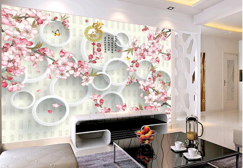 ✓3d kamer behang custom muurschildering non woven 3 d beste zegen