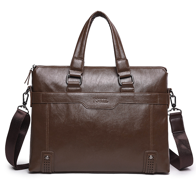 Men Casual Briefcase Male Shoulder Pu Leather Bag Men Messenger Bags Computer Laptop Handbag Bag Men's Travel Bags Crazy Horse 2016 men casual briefcase business shoulder bag pu leather messenger bags computer laptop handbag bag men s travel bags