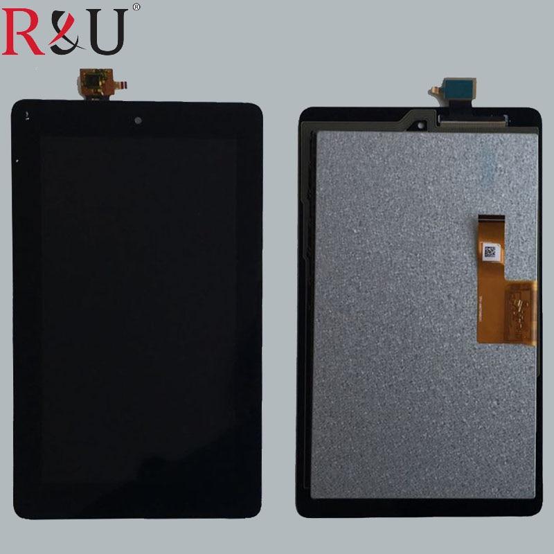 7 дюймов ЖК-дисплей Дисплей Сенсорный экран Панель планшета Стекло сборки Замена для Amazon Kindle Fire 2015 HD5 HD 5 SV98L