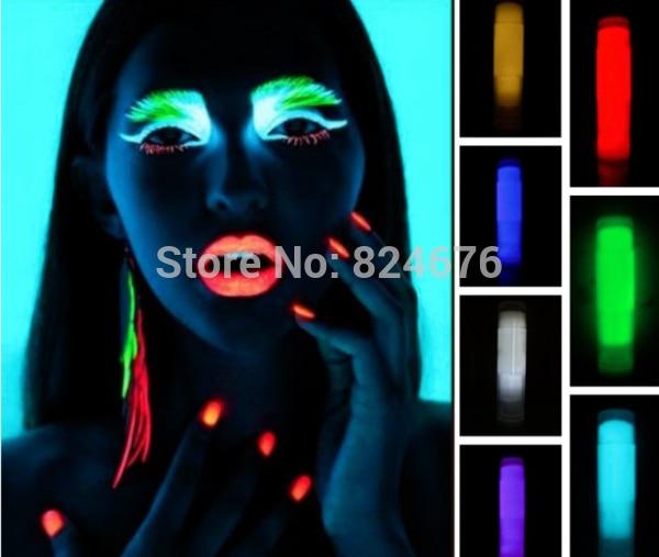 100g Mixed 5 colors Luminous glow powder,,super bright
