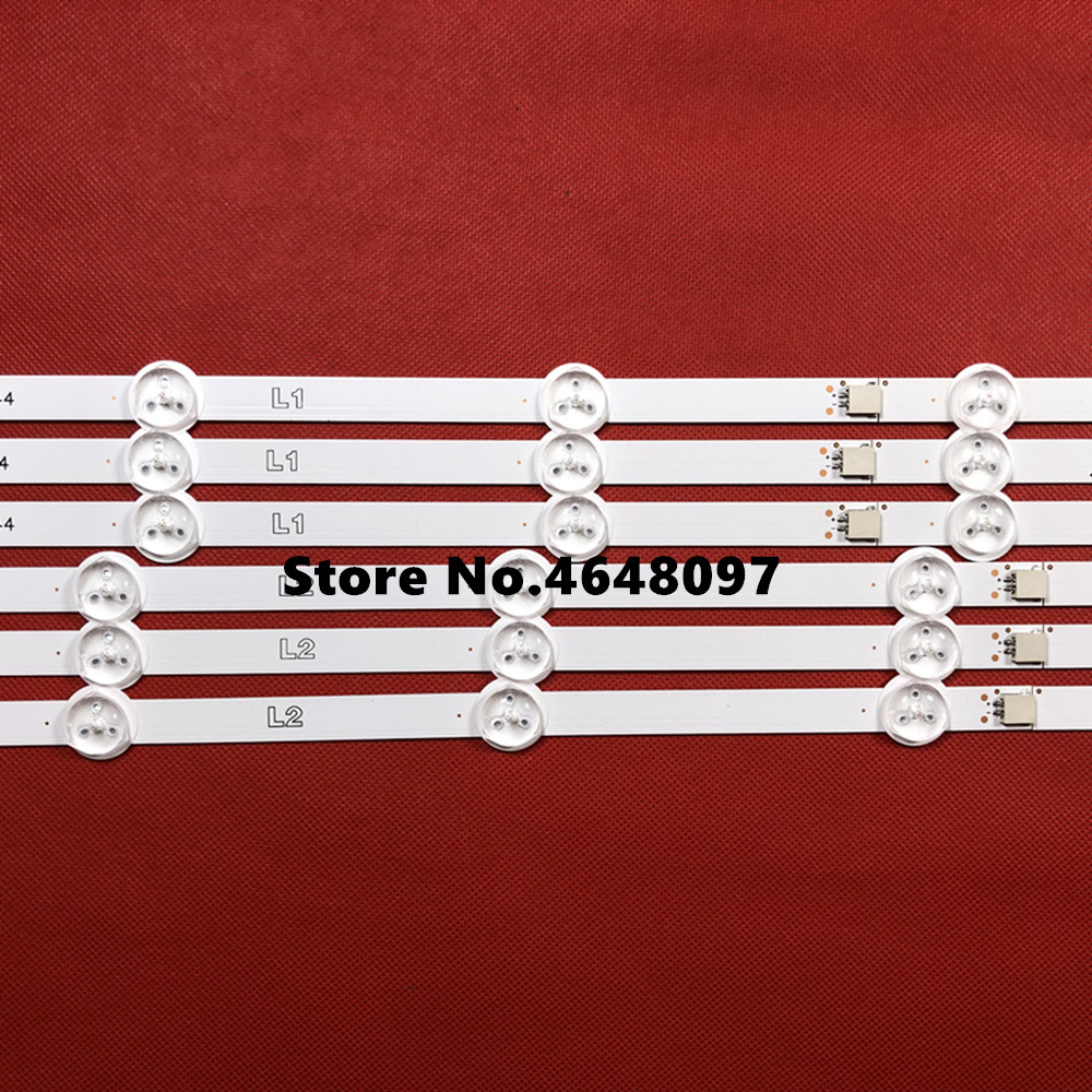 "4 Pieces 47le5500 47e5ers Led Strip 47""row2.1 6916l-1174a 6916l-1175a 6916l-1176a 6916l-1177a"