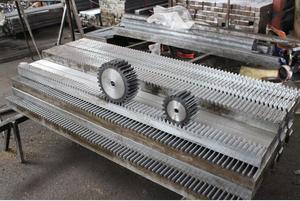 Image 3 - 10pcs จัดส่งฟรี 1Mod 15x15x1000 มม.1 M Spur Gear Rack stright ฟันเกียร์ Rack precision CNC Rack ตรงฟันฟัน Rack