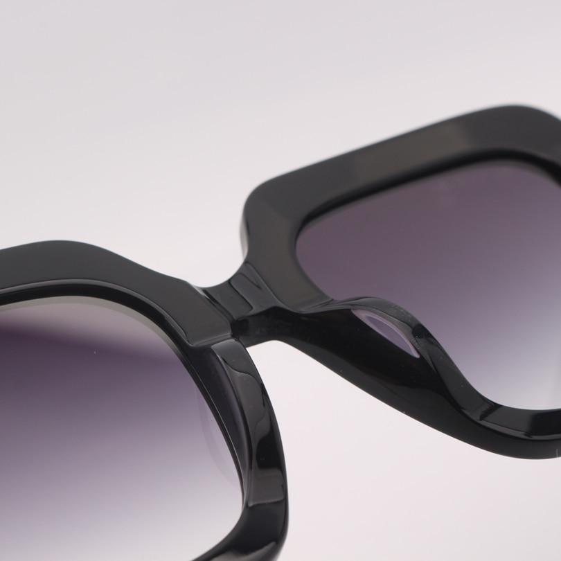 Top Schwarz Lens Grau Gafas Sonnenbrille De Rahmen Mujer Gradient Sol Co1 Qualität Frauen Quadratischen ArqUaA