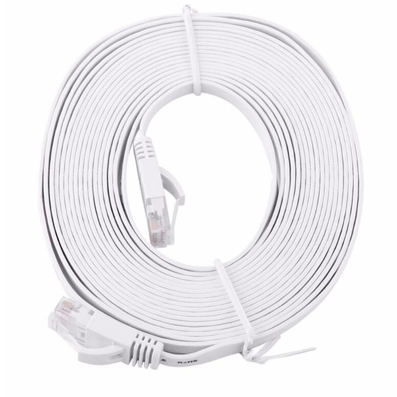 New 0.5/1/2/3/5/8/10/15m Ethernet Cable High Speed Rj45 Cat6 Flat Ethernet Network Lan Cable Utp Patch Router Computer Cables Computer & Office