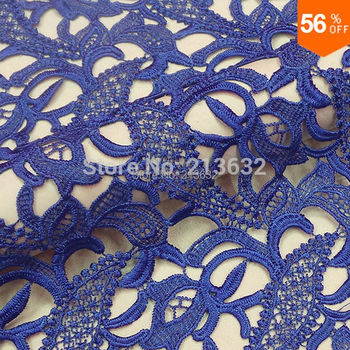 PQYY27 african guipure lace water soluble chemical lace guipure lace fabric hollow out african lace fabrics fashion week