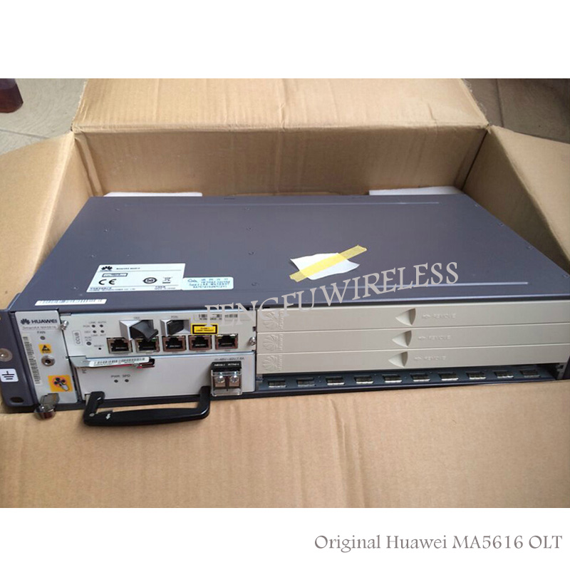 Fiber Optic Equipments 2018 Hottest Original New Hua Wei Digital Subscriber Line Access Multiplexer Ip Dslam Smartax Ma5616 Chassis With Dc+ac Power Utmost In Convenience