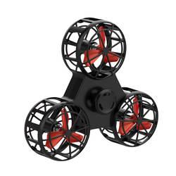 Оригинальный Летающий Спиннер Дрон кубик squeeze роликовое кольцо летящая игрушка электронные Анти Стресс помощи игрушки для детей