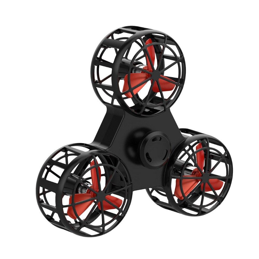 Originale volare fidget spinner drone cubo spremere rullo anello di volo del giocattolo elettronico anti-stress relief giocattoli per i bambini i bambini