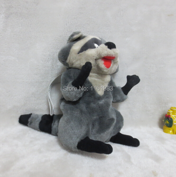 Cartoon Movie Pocahontas Exclusive 50cm Plush Meeko Raccoon Toys For Kids