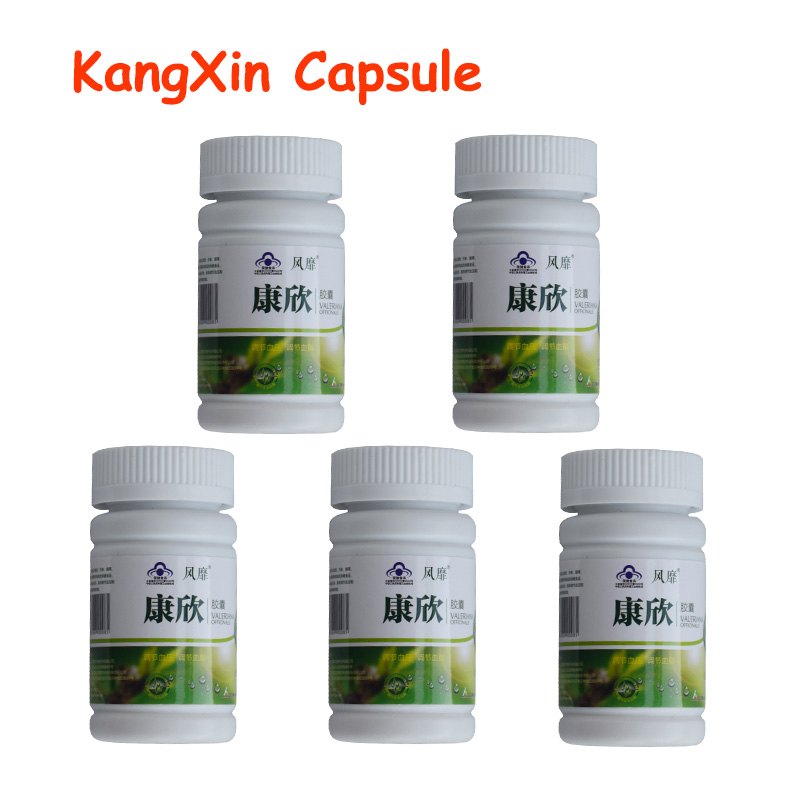5 Bottles KangXin Clean Soft Blood Vessel Reduce High Blood Pressure Hypertension Clean Blood Vessel Low Blood Pressure high quantity medicine detection type blood and marrow test slides
