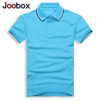 Joobox Лето Для мужчин Мужские Поло рубашка короткий рукав Для мужчин Мужские Поло рубашка хлопок сплошной Цвет Для мужчин хлопок короткий рук...