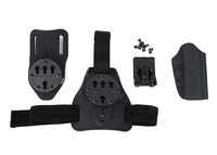 Tactical Quick Detached Three Purposes of Base Plate 1911 Holster Set HS7 0086