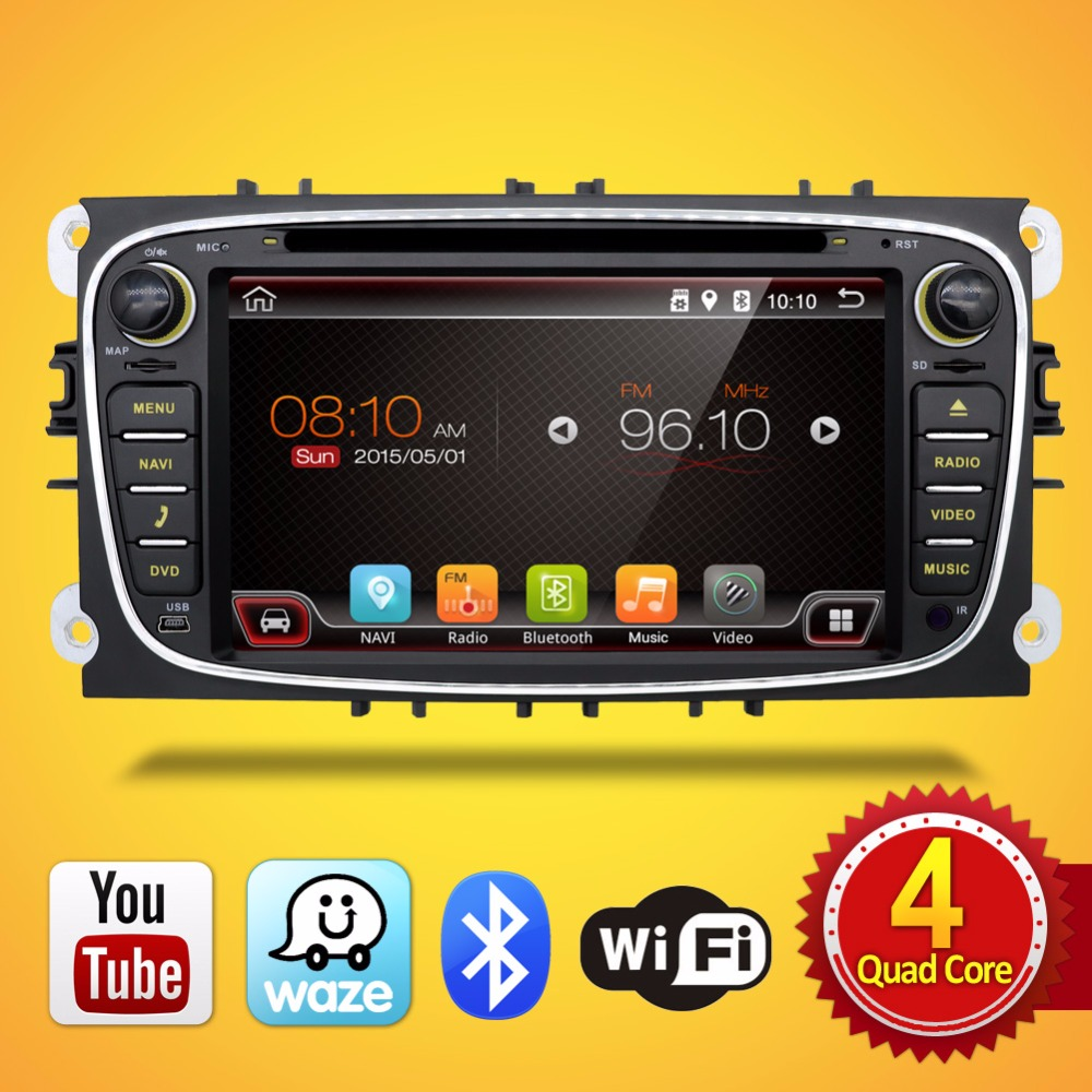 Black Siliver Two 2Din 7 Inch font b Car b font DVD Player Android 6 0