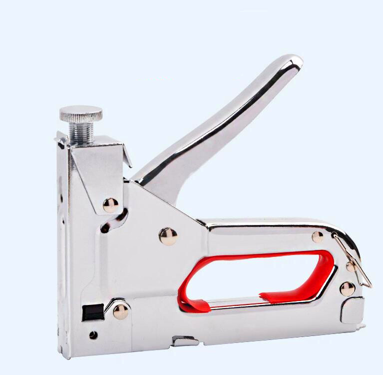 Nail Staple Manual Furniture Stapler for Wood Door Upholstery Kit Framing Nailer Office Supplies