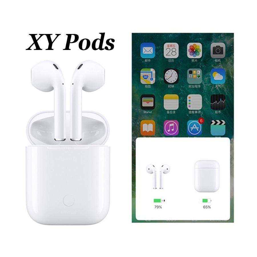 Bright Xy Pods 2019 W1 Chip Tws Bluetooth Earphones Wireless Earphone Earbuds Pop Up Xypods Xy-pods W1 Not Air Mx Lk Te9 Tws I12 I10 Low Price