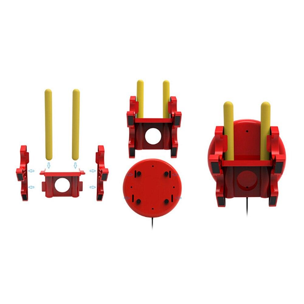 Nouveau Taiko baguettes de batterie support et contrôleur dédiés pour Nintendo Switch Console de jeu vidéo pour NS Taiko tambour jeu tambours spéciaux - 5