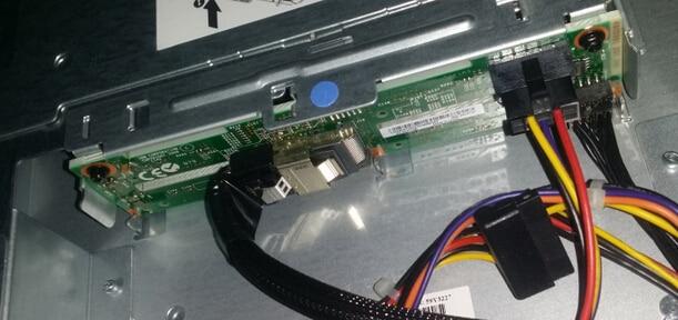 SAS/SATA Hard Drive Backpzlane For X3250M4 46C6757 Original 95%New Well Tested Working One Year Warranty