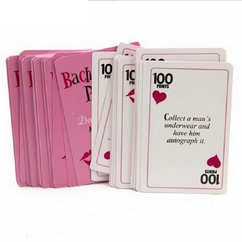 Bliss 13pcs/set Hen Party Bachelorette Party Dare Cards Bride Team To Be Party Game Girls Out Night Prop Drinking Game Cards,B(China)