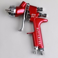 Spray Gun GFG Pro HVLP 1 3mm Noozle 600ml Cup For Auto Paint Topcoat And Touch