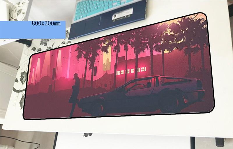 Hotline Miami pad mouse Adorable computador gamer mouse pad 800x300x2mm padmouse cool new mousepad ergonomic gadget