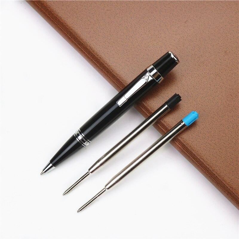 5 packs New Cross Mini Ballpoint Pen Refill Dual Pack Red M 8518-5