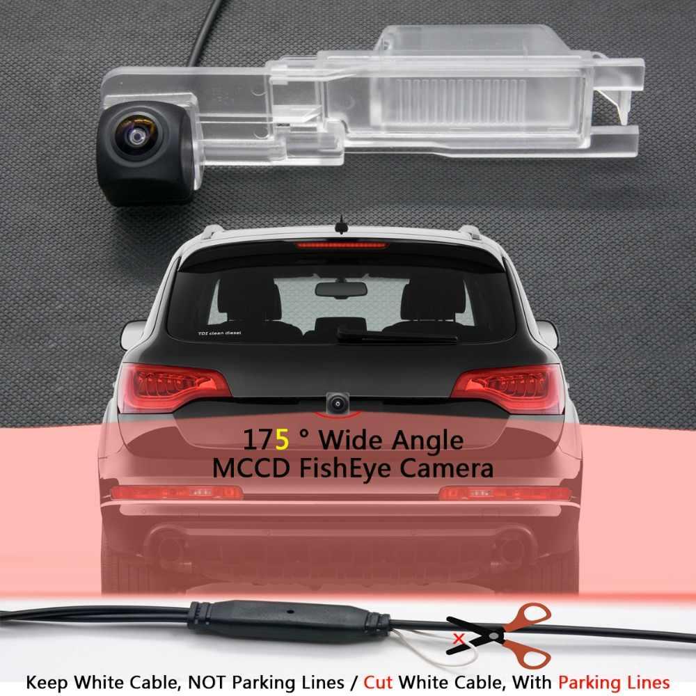 175 degrés 1080 P Fisheye MCCD lentille Starlight Vision nocturne caméra de recul de voiture pour Buick nouveau Regal 2012 12LED Full HD IR
