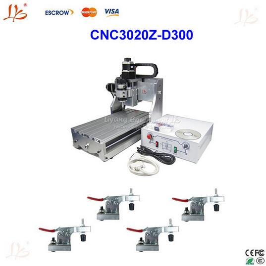 New design!cnc 3020Z-D300 router /engraving machine ,mini cnc milling machine +4pcs cnc frame,hot sale cnc milling machine mini cnc machine engraving for sale