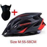 2016 Upgrade Ultralight Ridding Moon Bicycle Helmets Cycling Helmet Highway Road Cap Bike MTB Casco Accessories BH01