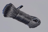 Grey 6mm 15m ATV Winch Line Off Road Rope Synthetic Winch Rope 6mm Plasma Winch Cable