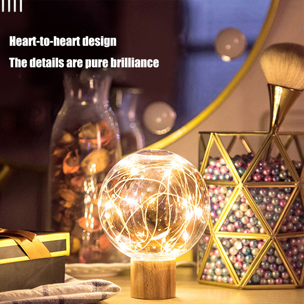 USB Charging LED Night Light 3D Moon Star Night Bedside Lamp for Home Decor Gift CLH@8