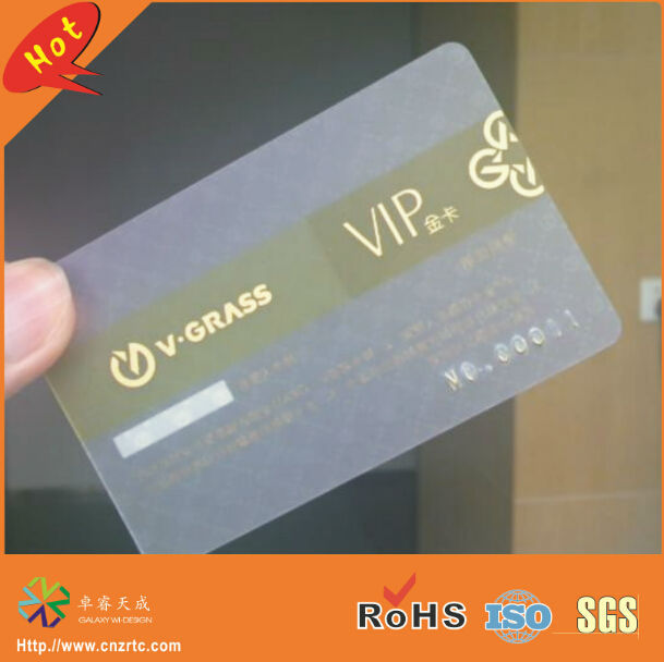 500pcslot 03mm thickness both side printing transparent plastic 500pcslot 03mm thickness both side printing transparent plastic vip card of clear name reheart Image collections