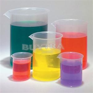 5PCS/Set Laboratory School Teaching Plastic Beaker Set 5 Graduated Polypropylene Beakers 5 Sizes 50ml,100ml, 250ml,500ml,1000ml