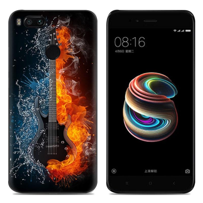 Xiaomi Mi 5X 5,5 дюймдық сәндік арт-боялған - Мобильді телефондарға арналған аксессуарлар мен бөлшектер - фото 3