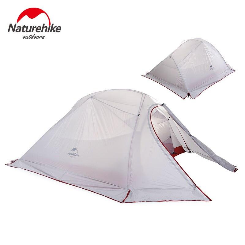 Nature randonnée Camping extérieur tente 2 3 personnes imperméable Double couche hiver 4 saison randonnée touristique 1 personne ultra-léger tente