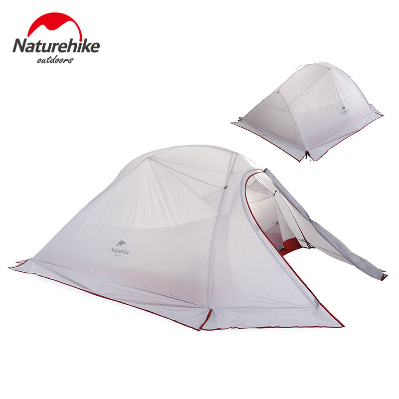 NatureHike Outdoor Camping Tent 2 3 Person Waterproof Double Layer Winter 4 Season Hiking Tourist 1 Person Ultralight TentNatureHike Outdoor Camping Tent 2 3 Person Waterproof Double Layer Winter 4 Season Hiking Tourist 1 Person Ultralight Tent