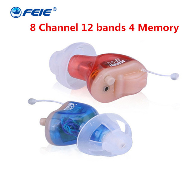 Micro Ear Hear Aid Tinnitus Masker for the elderly S-17A CIC Appareil auditif invisible Severe Hearing Aids Drop Shipping