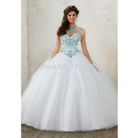 2019 Hot Colorful Beading Quinceanera Dresses Ball Gown With Beads Cheap Quinceanera Gowns Sweet 16 Dress Vestidos De 15 Anos