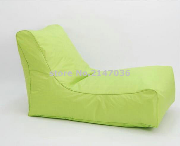 цены Green indoor Outdoor adults back recliner Sofa Bean Bag Seater Chair Lounge Cover