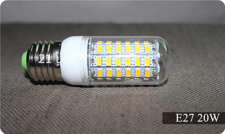 2020 卸売新 led ホット販売 E27 E14 9 ワット 12 ワット 15 ワット 20 ワット SMD5730 led トウモロコシ電球ランプウォーム/ホワイト led 照明送料無料