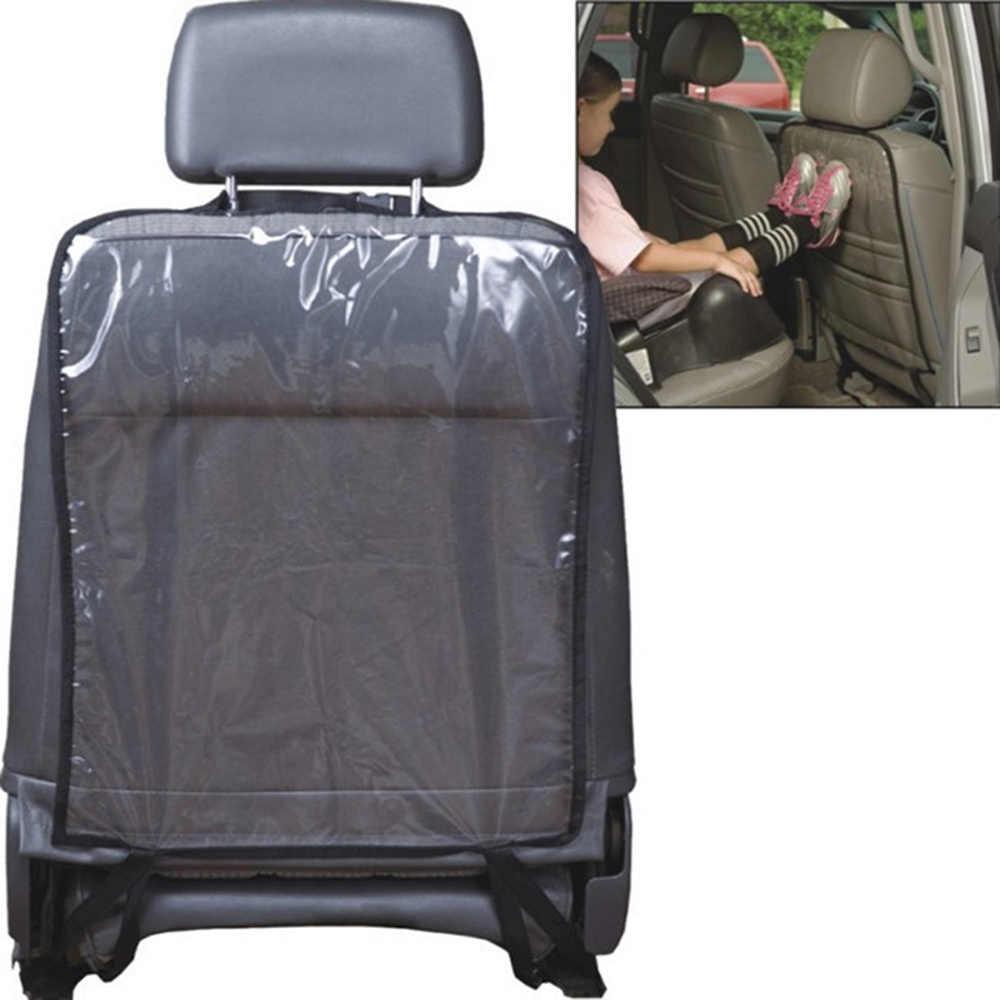Juego de 2 protectores transparentes para asiento de coche para ni/ños N\A