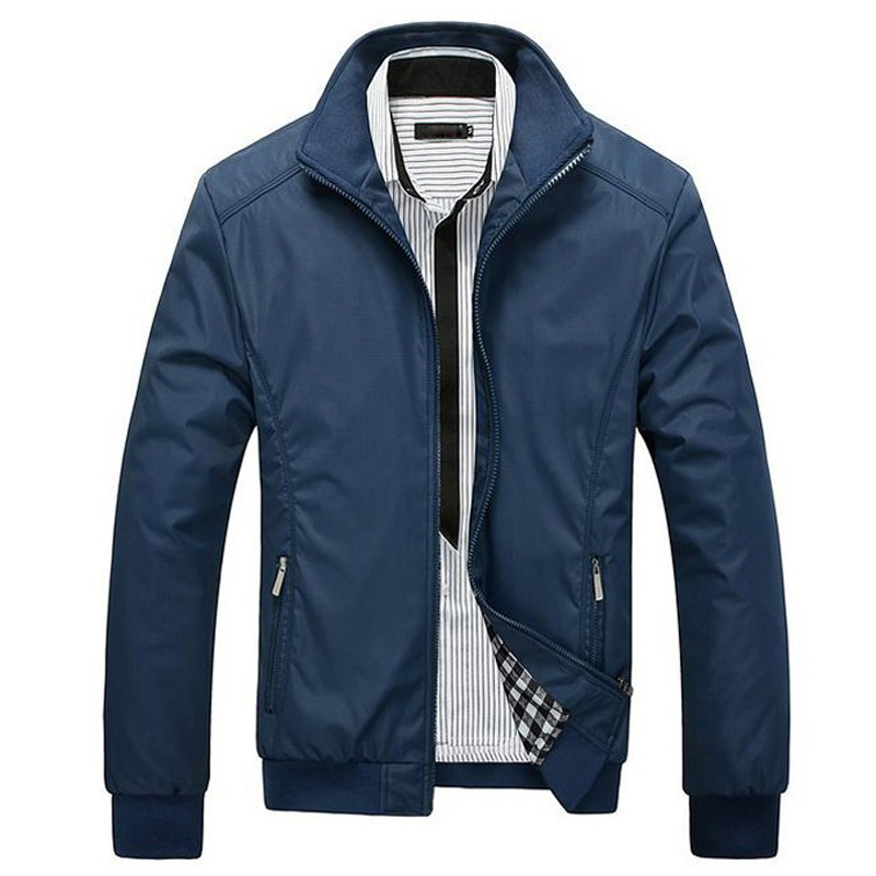 Spring Autumn Men Jacket Solid Jacket Men Overcoat For Male Wholesale M-3XL