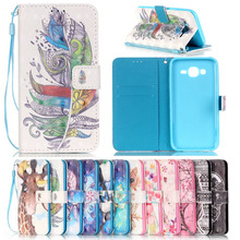 For Samsung J5 Cases Flip Phone Cover Case For Samsung Galaxy J5 2015 J500 J500H Full Protective Phone Bags