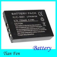 High Quality 1PCS Camera Battery KLIC-5001 KLIC5001 For Kodak Easyshare DX7630 DX7440  DX7591 DX7630 Z7590 Z730 Z760 P712 P880