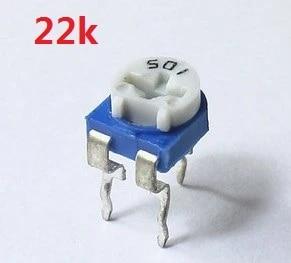 Potentiomètre métal schiebepotentio coulissantes THT linéaire 100kω ± 20/% 200 mW Mat