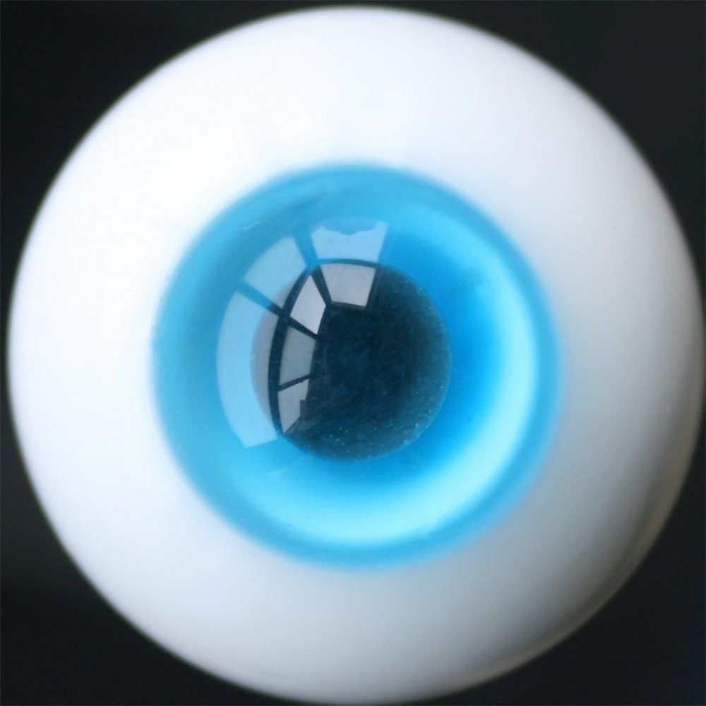 16mm Blue & Black Pupil For BJD Doll Dollfie Glass Eyes Outfit аксессуар чехол meizu m5 zibelino classico black zcl mz m5 blk