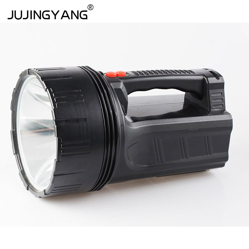 High quality dual use waterproof long-range led hand hold lamp hunting searchlight with reading side light